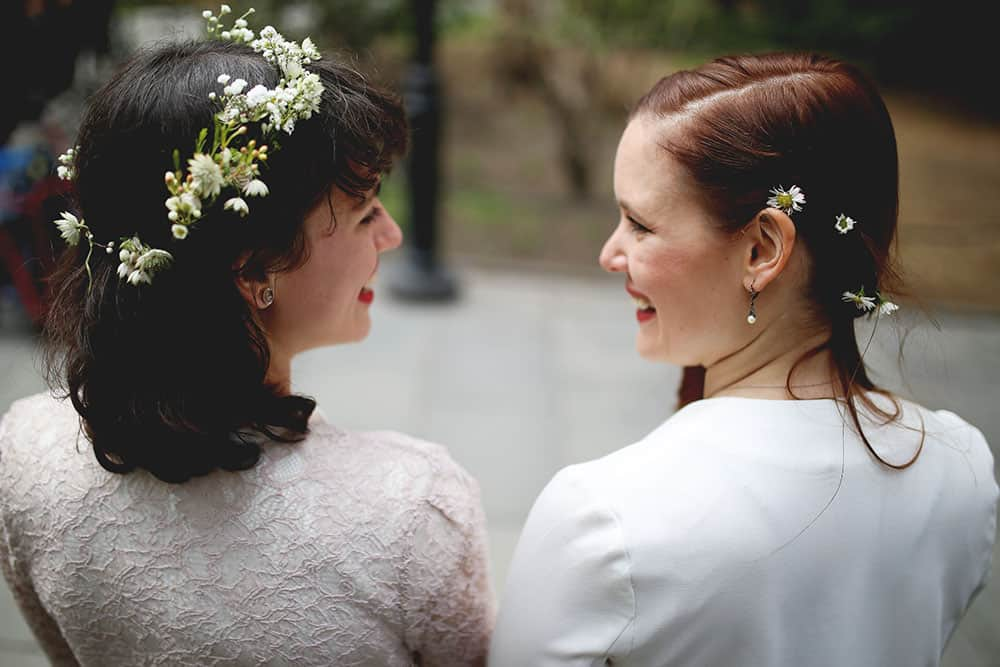 same sex new york elopement