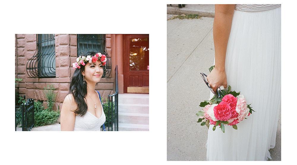 analog wedding photography