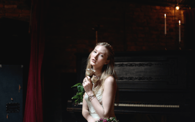 Brooklyn Bridal Styled Shoot at the Jalopy Theatre and School of Music