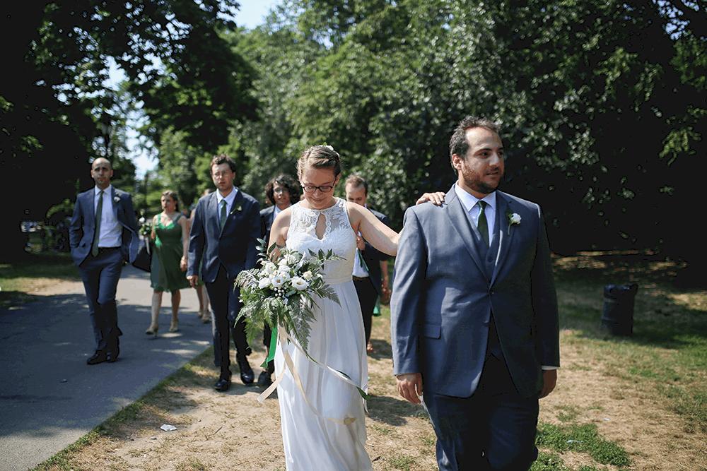 prospect park bridal party pictures