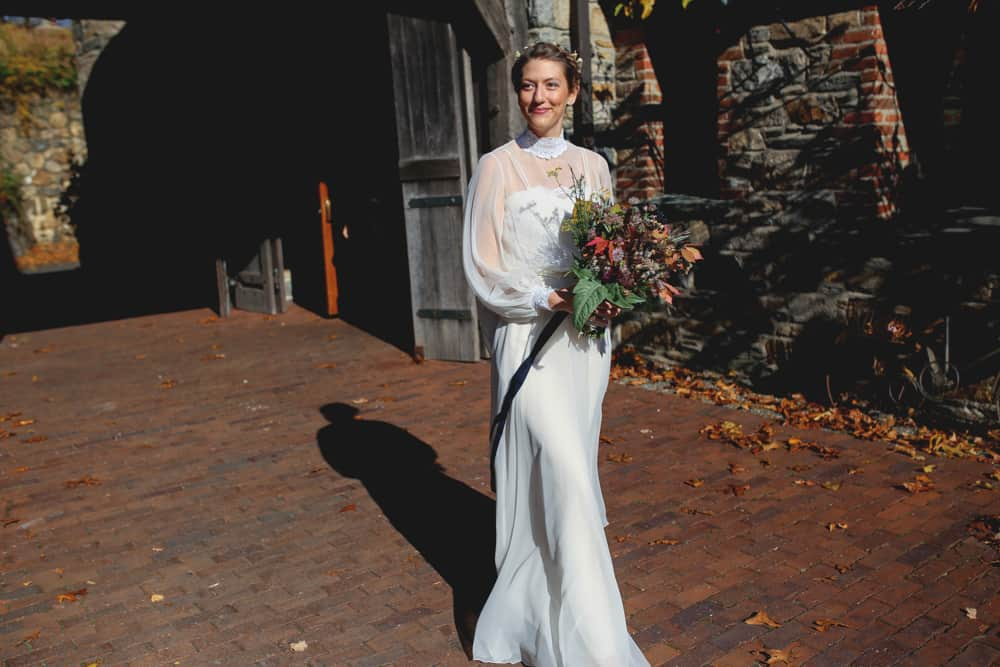 Blue Hill at Stone Barn wedding
