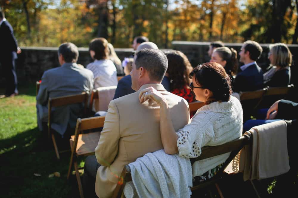 Wedding Ceremony at Blue Hill Farm