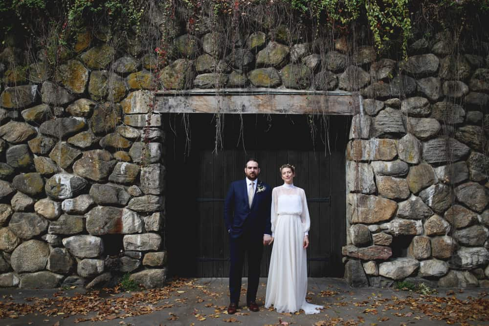 Blue Hill at Stone Barn Fall Wedding