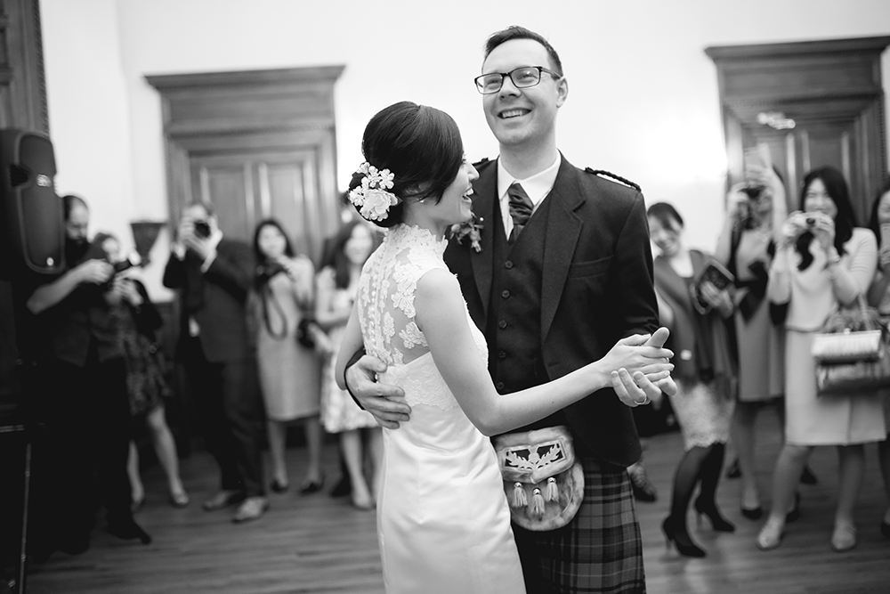 Japanese Scottish wedding Edinburgh