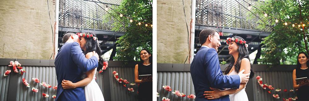 boho wedding in brooklyn