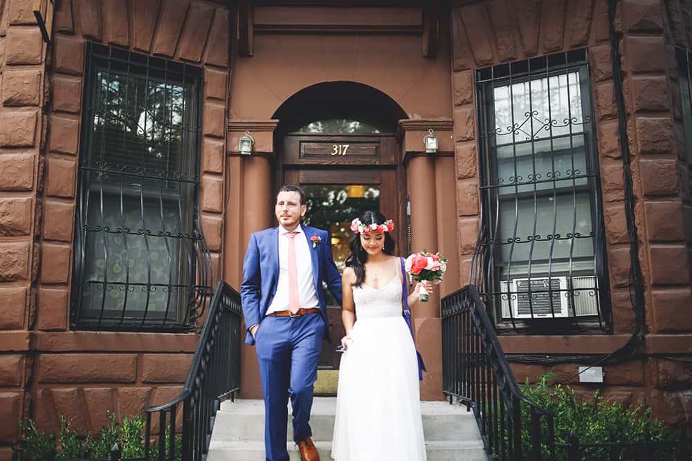 boho wedding at Maison-May