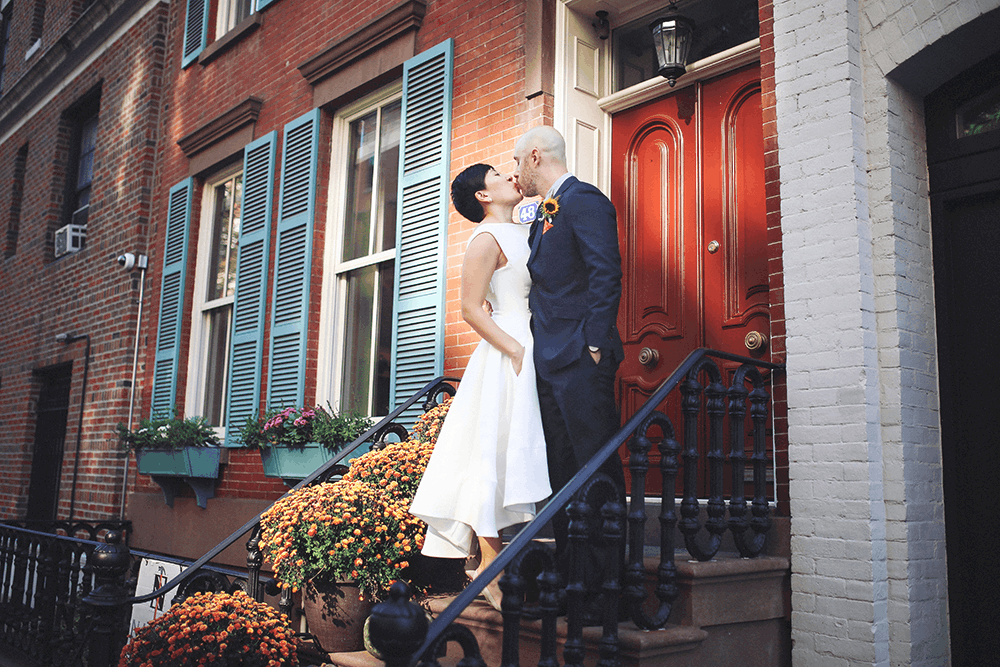 bridal portraits in the west village