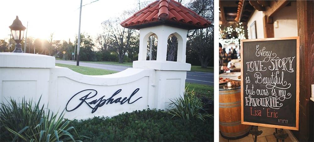 fall wedding at raphael vineyard