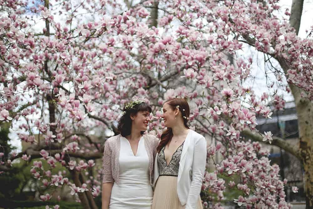 same sex new york elopement