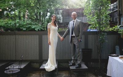 A FORT GREENE BACKYARD WEDDING WITH RACHEL AND JAKE
