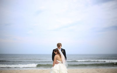 Emily and Evan: a Fire Island Wedding