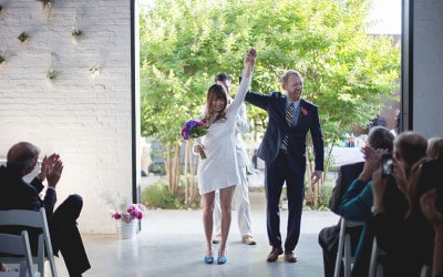 Noella and Dave: a Wedding at Sky Gallery