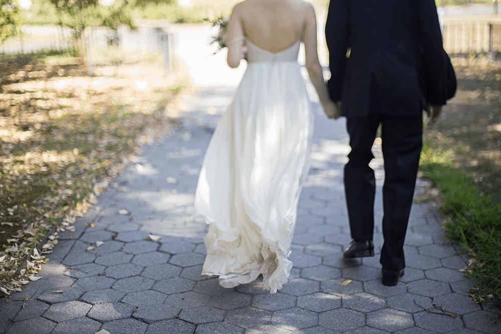 wedding at Snug Harbor Chinese Garden