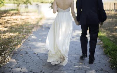 CAROLINE AND MIKE: A WEDDING AT SNUG HARBOR