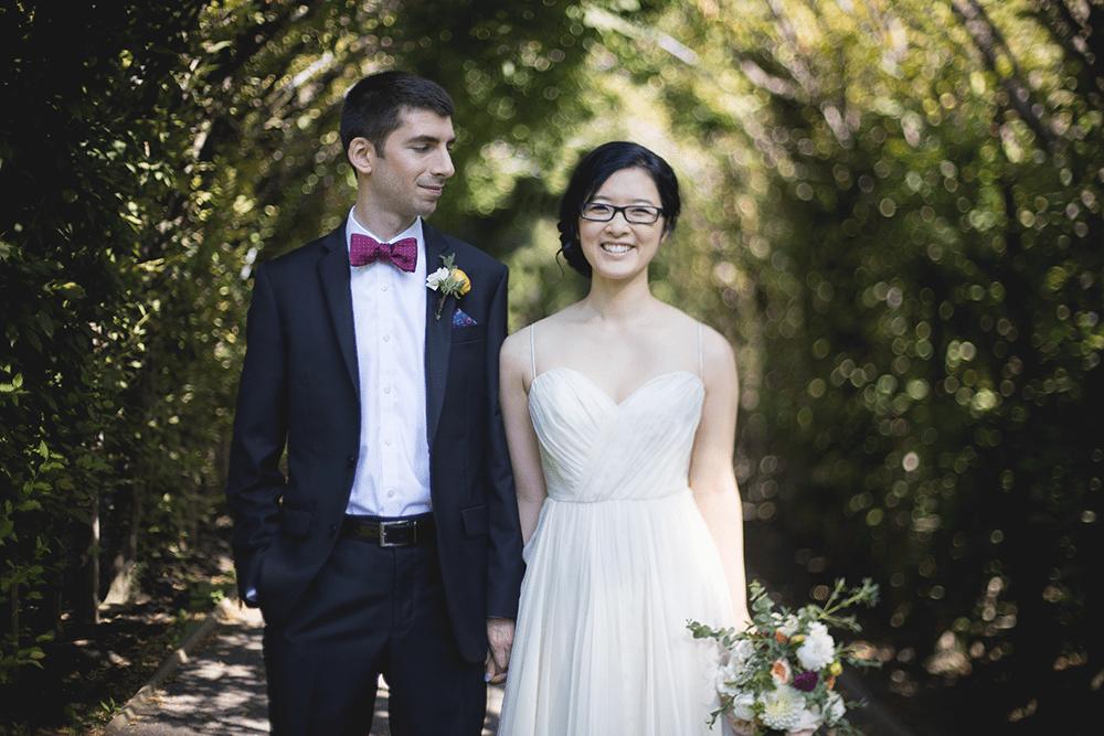 wedding at Snug Harbor