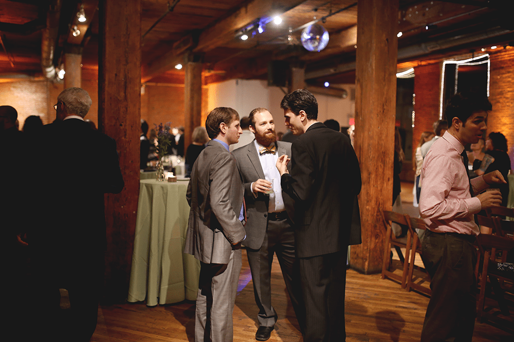 lgbt wedding at the Dumbo Loft