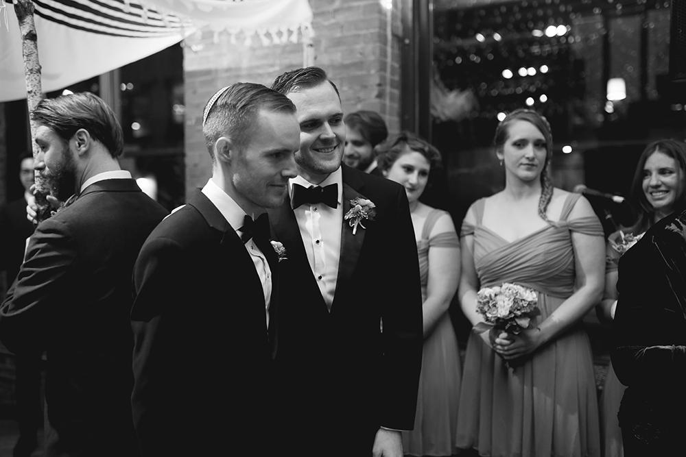 lgbt wedding at the Dumbo Loft