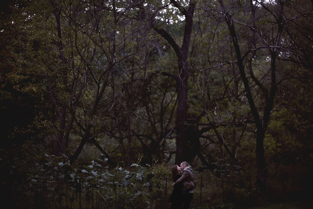 engagement photos in Hyde Park, Toronto