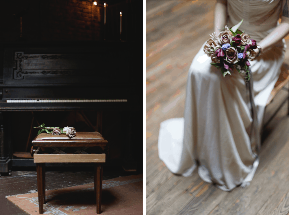 brooklyn bridal styled shoot