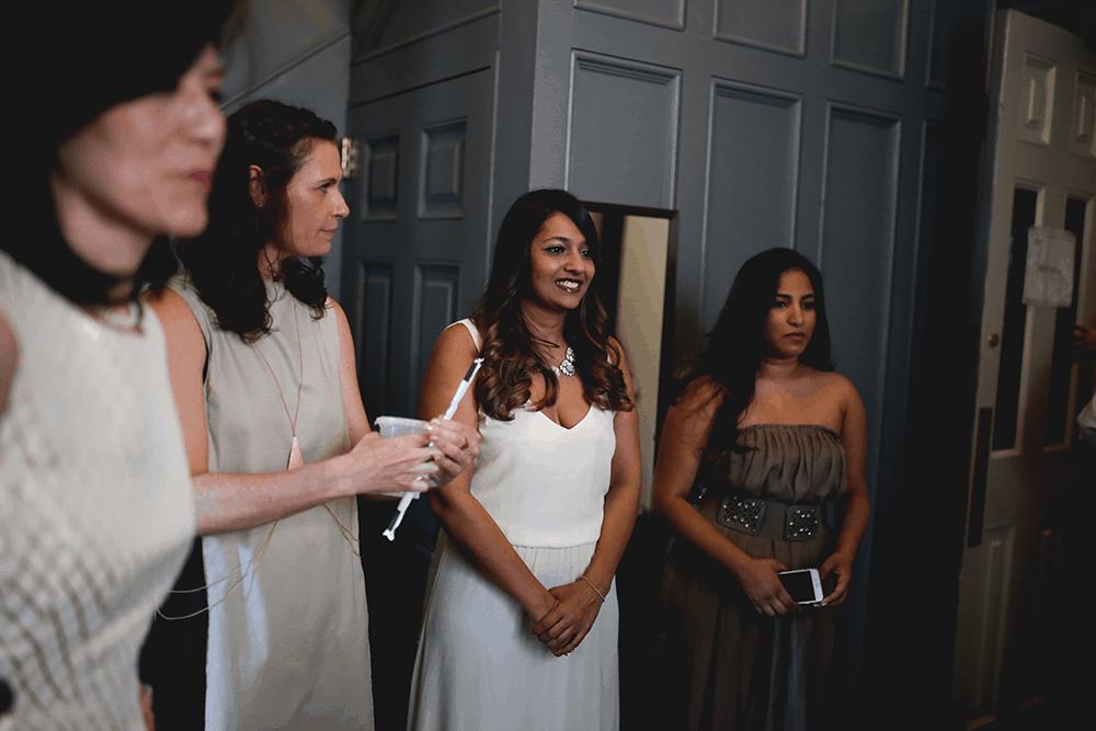 art gallery wedding in new york