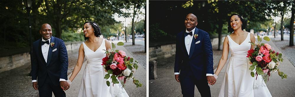 summer wedding in Park Slope