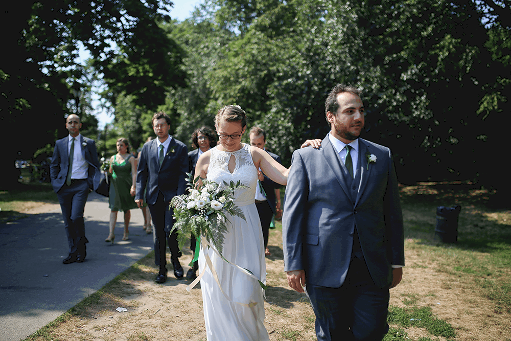 prospect park bridal party pictures