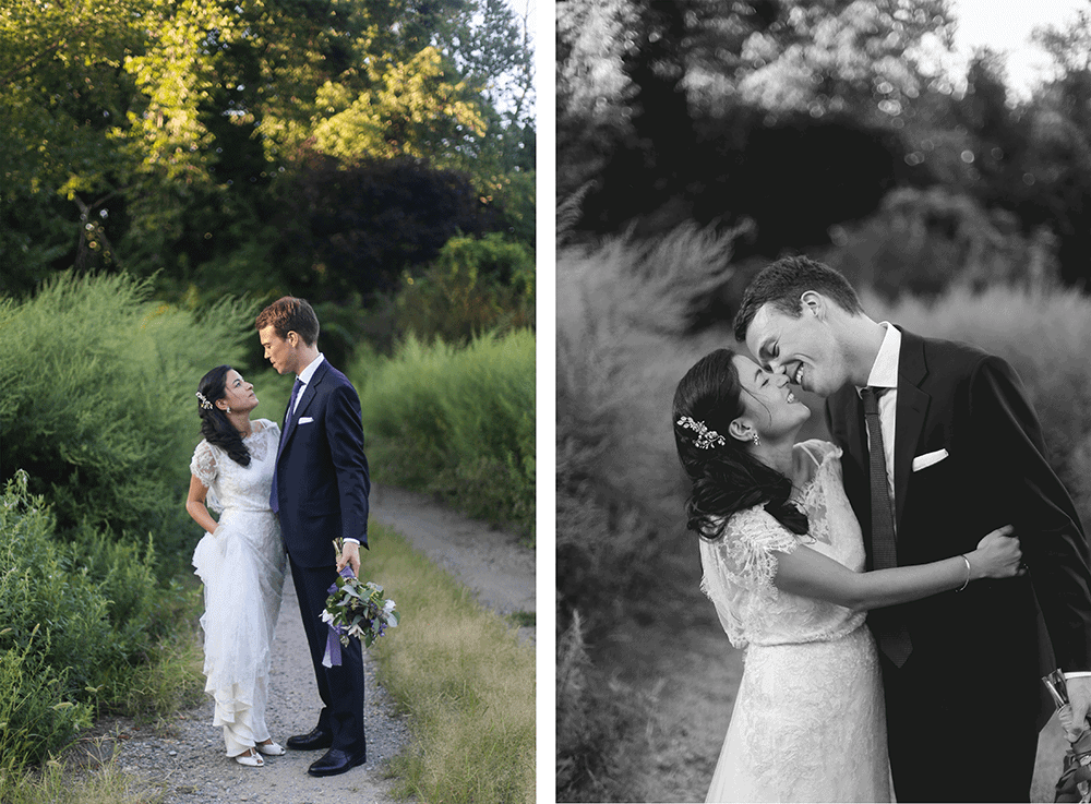 Crabtree's Kittle House wedding portraits