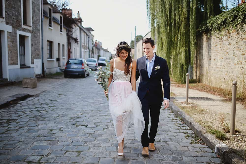 intimate and stylish elopement in Paris