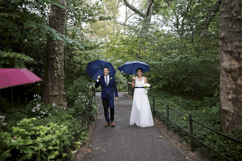Elopement at the Ladies Pavilion in Central Park