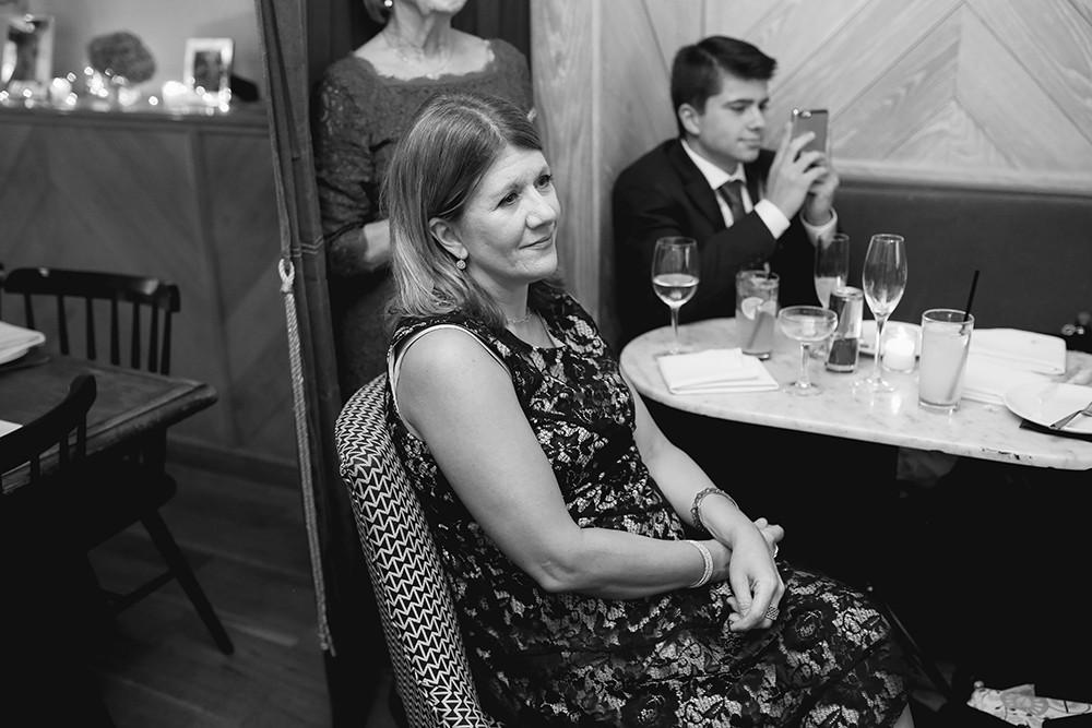 The East Pole wedding reception