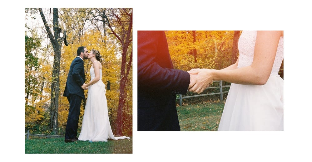 Blue Hill at Stone Barn Fall Wedding