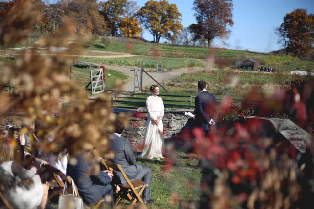 WeddingWedding Ceremony at Blue Hill Farm