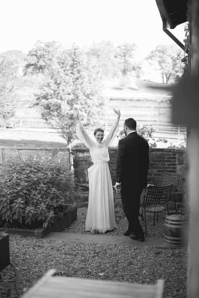 Wedding Ceremony at Stone Barn