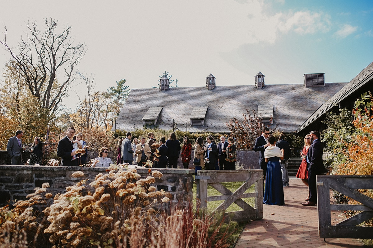 fall wedding at bluehill at stonebarn