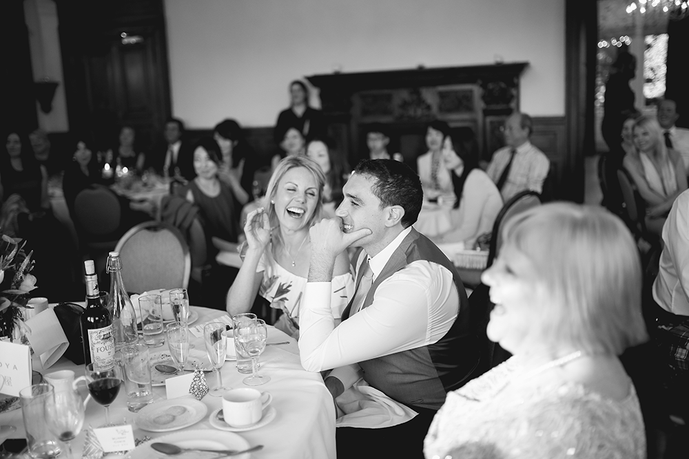 Edinburgh Zoo wedding reception