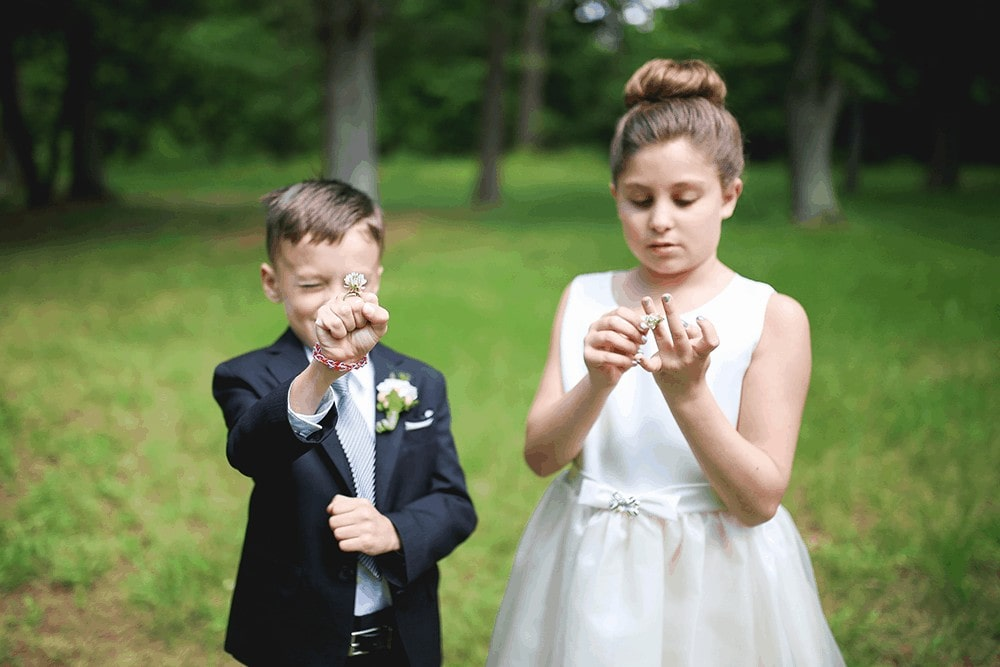 Bride and groom portraits in Battlefield State Park Monmouth