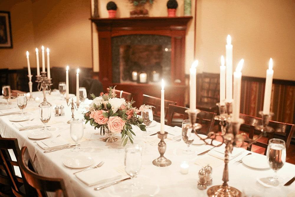 Steakhouse 85 wedding reception