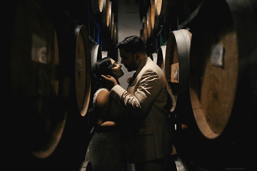 Brooklyn Winery Williamsburg Wedding portraits