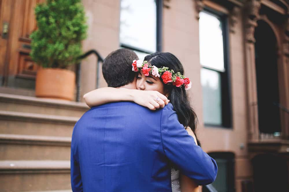 boho wedding in brooklyn