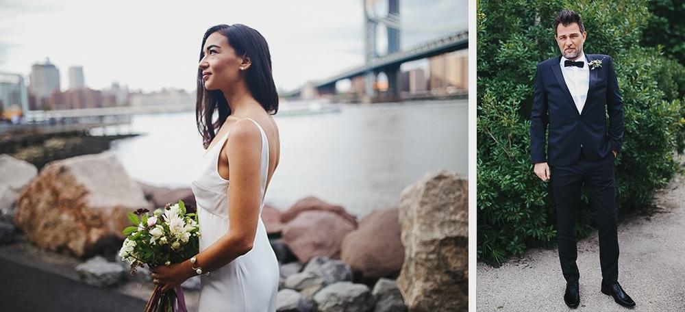 dumbo wedding portraits