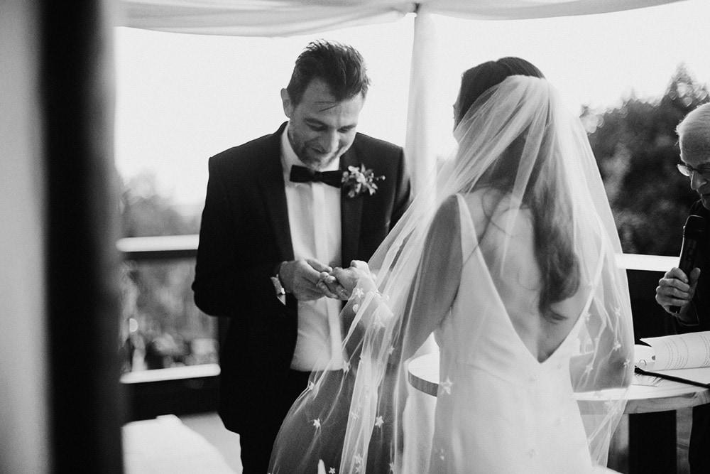 wedding ceremony One Hotel Brooklyn