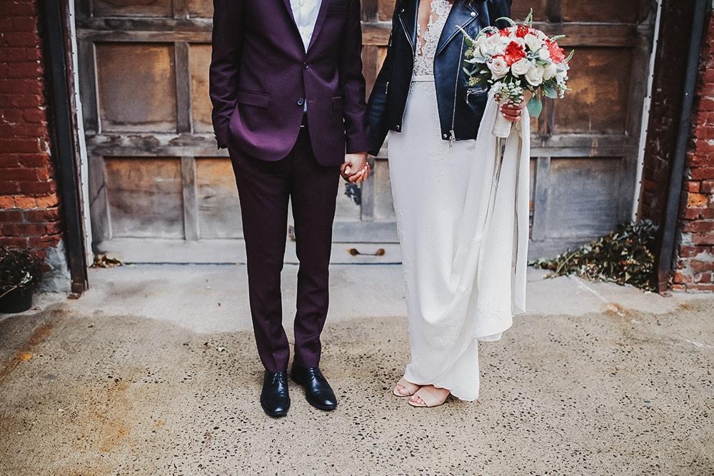 A FALL WEDDING AT GARNER ARTS CENTER