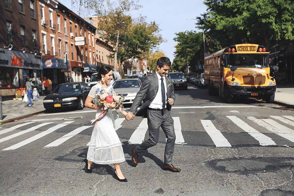 wedding portraits around frankies 457 brooklyn