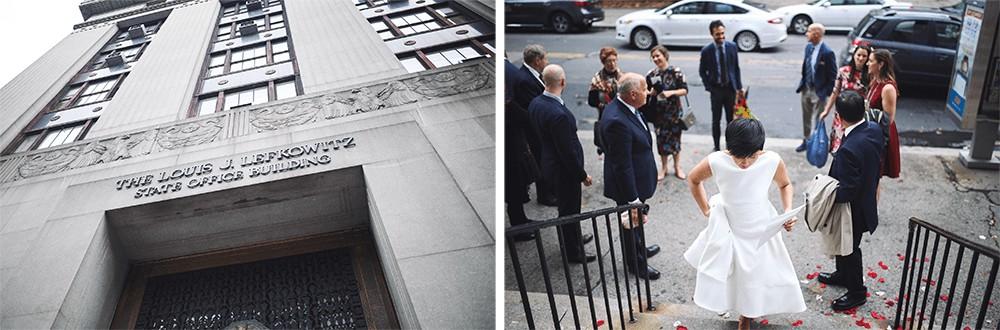 fun new york city hall elopement