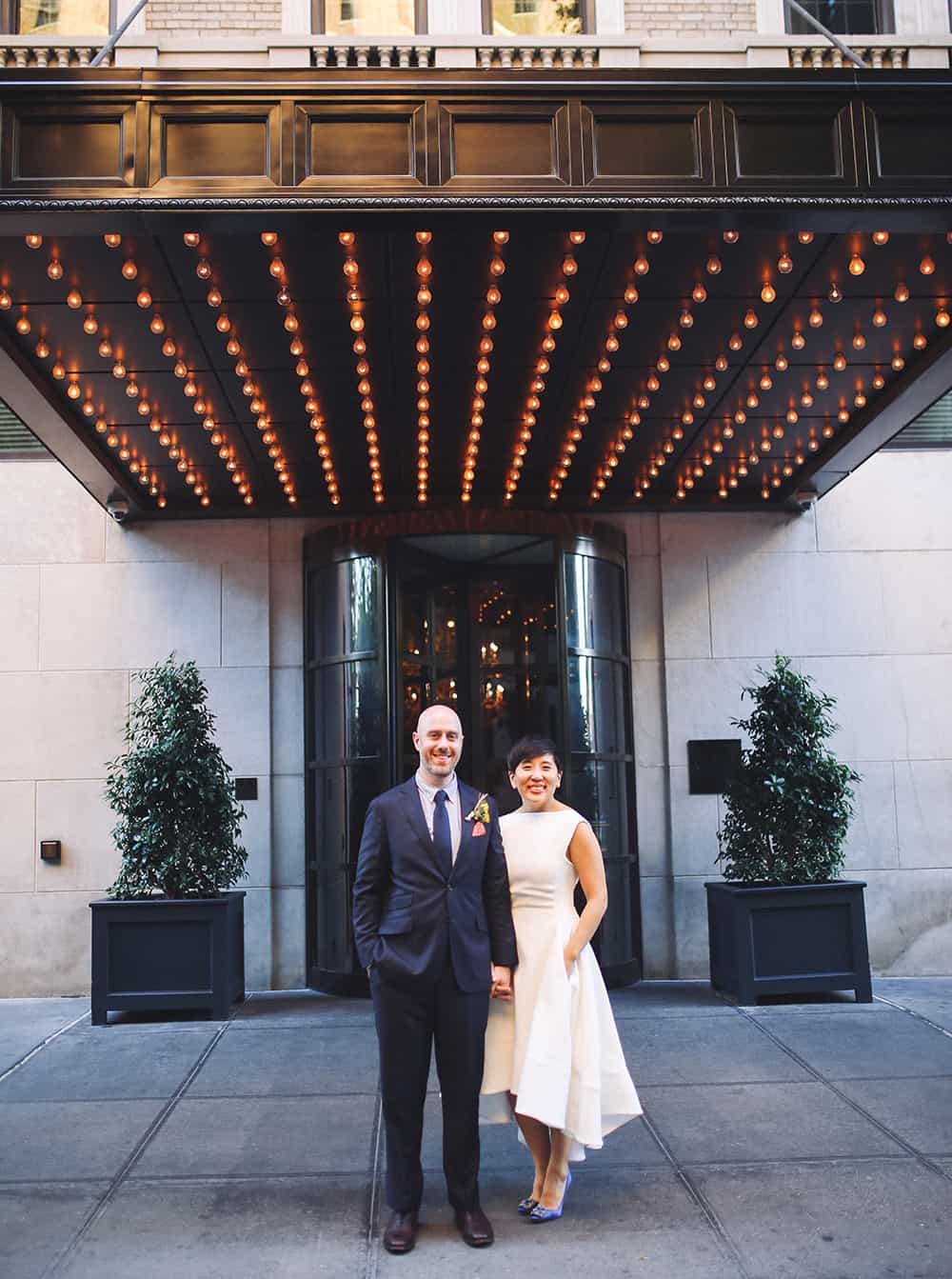 wedding portraits in the west village