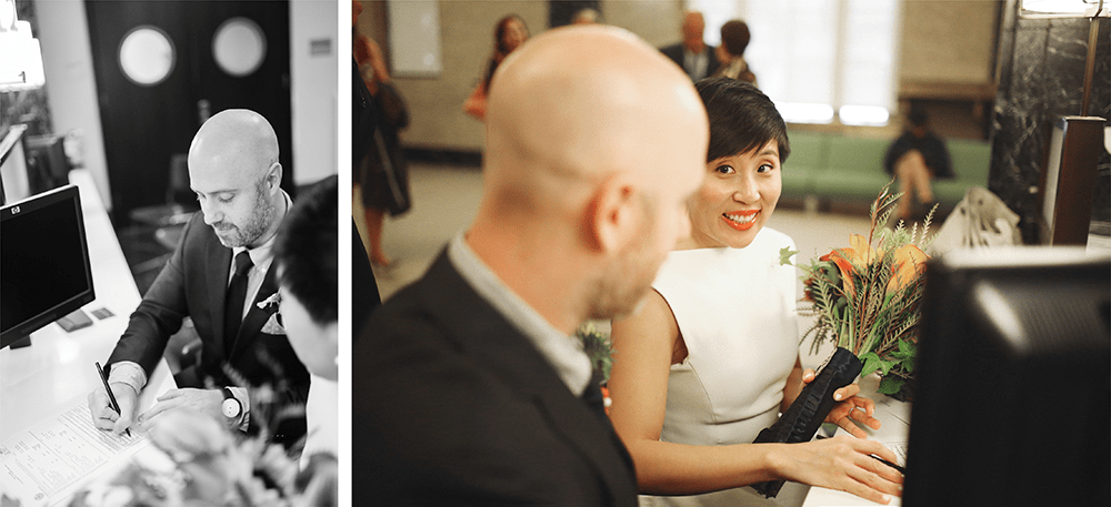 fun new york city hall elopement