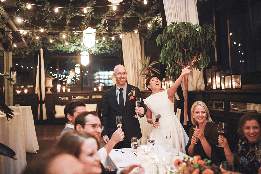 gramercy hotel wedding speeches