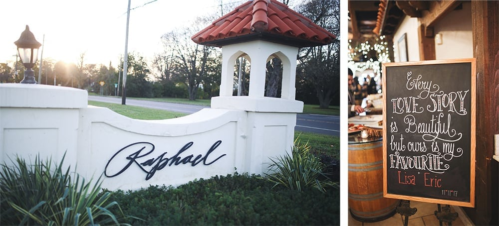 fall wedding at raphael vineyard