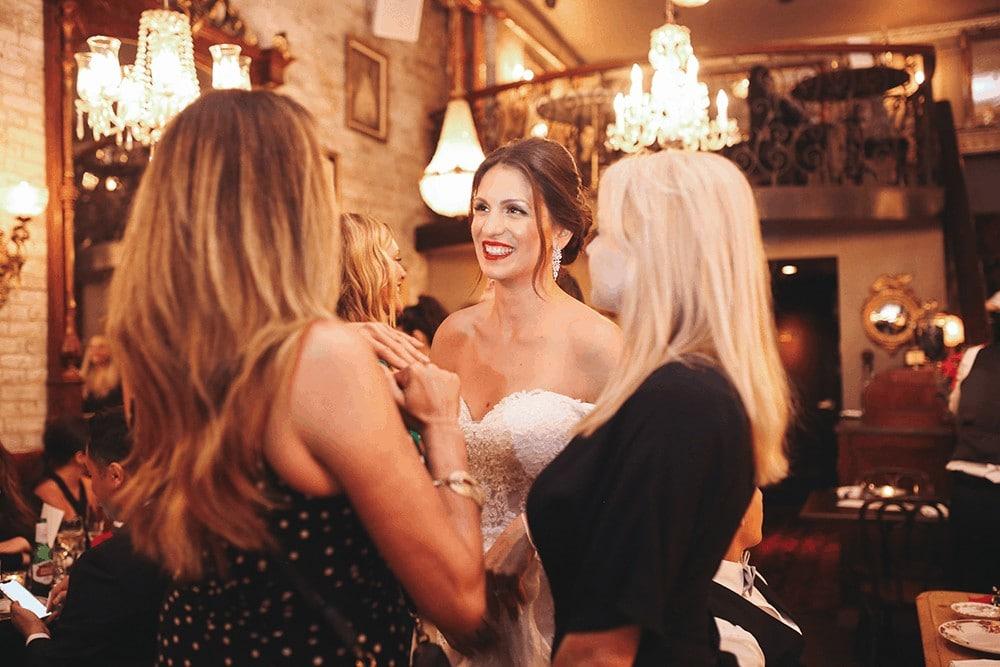 Wedding Reception at Antique Garage Tribeca