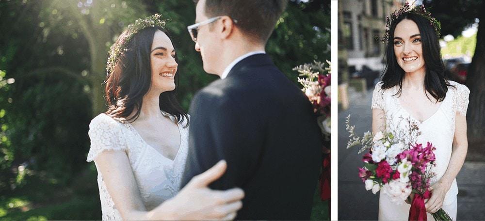 wedding portraits in prospect park